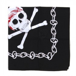 Bandana Neagra Skull Fostex