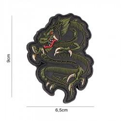 Patch 3D Dragon Verde 101 Inc