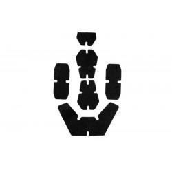 Set Velcro Casca Protectie Negru Ultimate Tactical