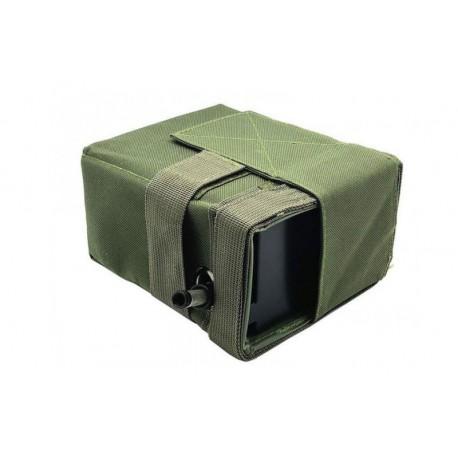 Magazie Drum Box MK43/M60 2500 Bile A&K