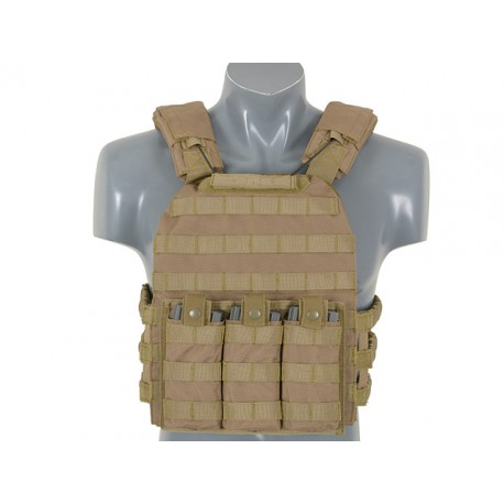 Vesta Tactica First Defense Plate Carrier Coyote 8Fields