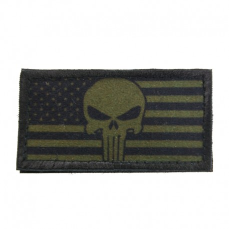 Patch Steag USA Punisher Olive