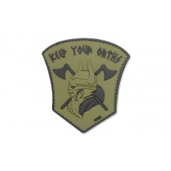 Patch 3D Keep Your Oaths Olive 101 Inc.